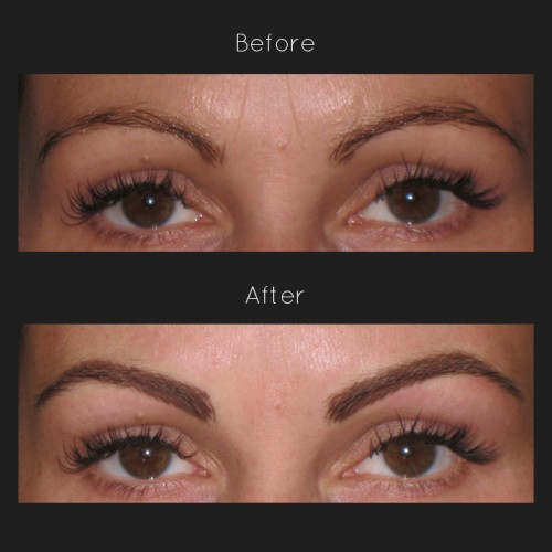 how to make your eyebrows darker without makeup